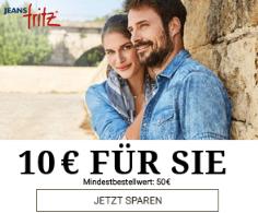 Jeans Fritz Gutschein für Neukunden