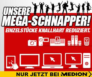 Deals & MEGA-Schnapper bei MEDIONshop