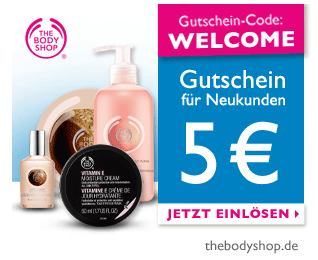The Body Shop Gutscheincode
