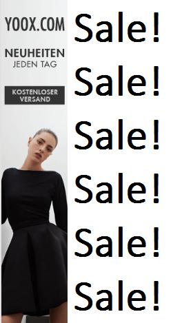 YOOX Sale