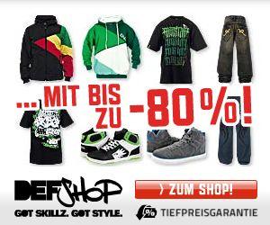 Sale & Rabatte bei DEFSHOP