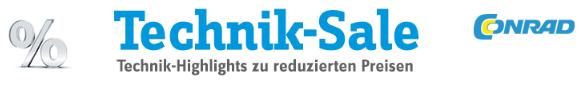 Conrad Restposten-Technik-Sale