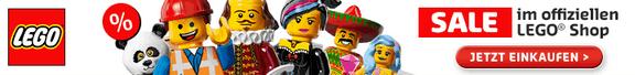 Sale im offiziellen LEGO Shop